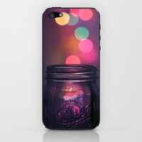 Bokeh Lighting Effects iPhone & iPod Skin by Devin Stout