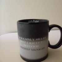 Harry Potter I Marauder's map Transforming Mug