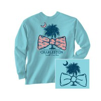 Palmetto Moon | Palmetto Bow Tie Long Sleeve T-Shirt