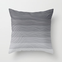 Topography Throw Pillow by friztin