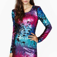 Nasty Gal Invincible Sequin Dress