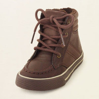 baby boy - shoes - tundra hi-top sneaker | Children's Clothing | Kids Clothes | The Children's Place