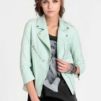 Good Omen Moto Jacket By Line & Dot