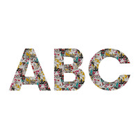 Sharon Turner Acer Decorative Letters