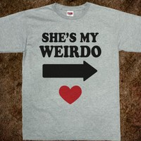 SHE'S MY WEIRDO (ALT SHIRT)