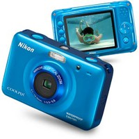 Nikon COOLPIX S30 10.1 MP Digital Camera with 3x Zoom Nikkor Glass Lens and 2.7-inch LCD (White)