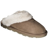 Women's Genuine Suede Chandra Scuff Slippers