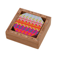 Sharon Turner Geo Chevron Coaster Set