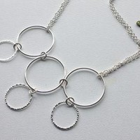 Loopy Hoops Bib Necklace