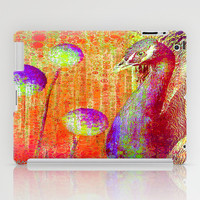 :: Peacock Parade ::  by GaleStorm and Ganech Joe iPad Case by GaleStorm Artworks