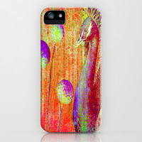 :: Peacock Parade ::  by GaleStorm and Ganech Joe iPhone & iPod Case by GaleStorm Artworks