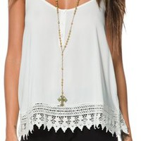 BILLABONG COUNTRY SMILE WOVEN CAMI