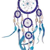 "DreamCatcher~ DreamCatcher Feathers~ Approx 3.5"" Diameter 15"" long"