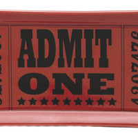 Admit One Theater Ticket Mini Tray | Trays | RetroPlanet.com