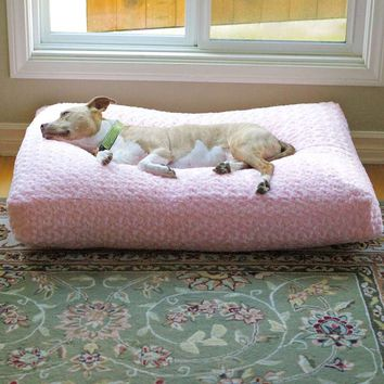 Animals Matter ® Chenille Katie Pet Bed and Blanket