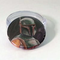 Black Friday, Shop Local Saturday, and Cyber Monday Sale// Comic Book 1.5 Button// Star Wars// Boba Fett