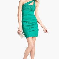 Hailey Logan Cutout One Shoulder Body-Con Dress (Juniors) (Online Exclusive) | Nordstrom