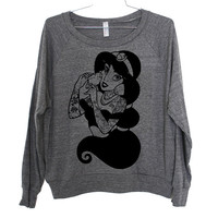 Hipster Jasmine Lightweight Raglan Pullover - American Apparel Ladies Sizes S, M, L