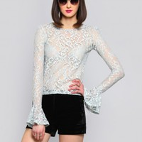 CURTSEY LACE BLOUSE