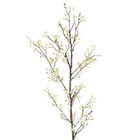 Faux Berry Branch - White
