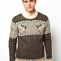 Ankerkjendt Sweater with Duck Print