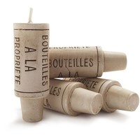 Wine-Cork Candles, Set of Four | Sur La Table