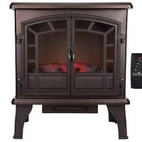 Duraflame Large Electric Stove Heater with Timer and Remote — QVC.com