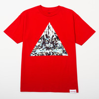 Trillian Tee in Red