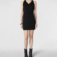 Womens Agatha Dress (Black) | ALLSAINTS.com