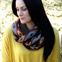 Carlsbad Caverns Infinity Scarf - VIRGINIA FIELDS