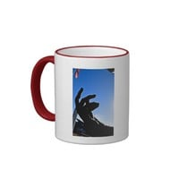 """Reaching for Liberty"" Photograph Mug"