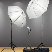 800 Watt Video Lighting Kit Photography Lighting kit Umbrella Softbox Kit And Background Light By Fancier F304