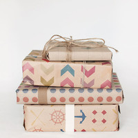 3 Sheets - Pick and Mix - Wrapping Paper