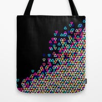 Colorful Tote Bag - Funfetti Light Bright - Tote Bag