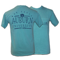 T-Shirt, Comfort Colors Auburn Pocket | Auburn University Bookstore