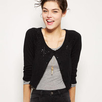Bling Shoulder Cardigan