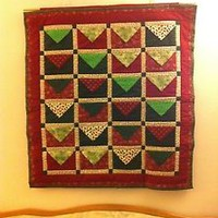 Handmade Quilted Christmas Countdown Wall Hanging Design #8
