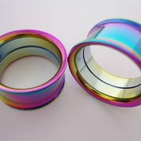Colorful Steel Internal Threaded eyelets (10g - 1 inch)
