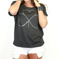 Kappa Delta Metallic Slouchy Sorority T-Shirt
