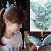 Cute Bunny Ear Statement Hair Barrette