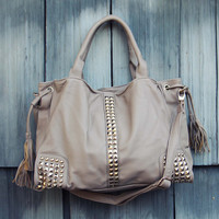 The Kindling Tote - Taupe
