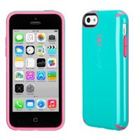 Speck SPK-A2447 CandyShell Cotton Candy Dandy Case for iPhone 5c - Speck Retail Packaging - Caribbean Blue/Bubble Gum Pink