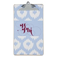 Pi Beta Phi Sorority Clipboard - Struck