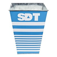 Sigma Delta Tau Sorority Wastebasket - Centered