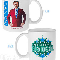 "Anchorman Coffee Mug is ""kind of a big deal""."