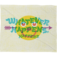 Nick Nelson Whatever Happens Fleece Throw Blanket