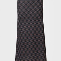 High Distinction Argyle Maxi Skirt