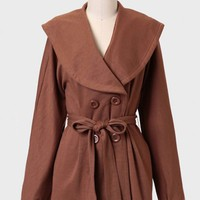 Parisian Charm Sash Belt Jacket