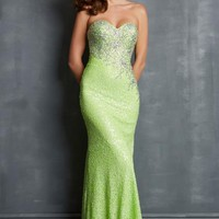Night Moves Dress 7014 at Peaches Boutique