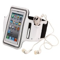 Waterproof Sport Armband Case Cover for Apple Iphone 5 (white)